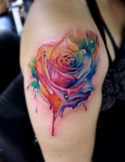 glowing color tattoo designs  ink