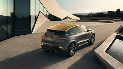 Renault Megane Evision Electric Rear Concept Previews
