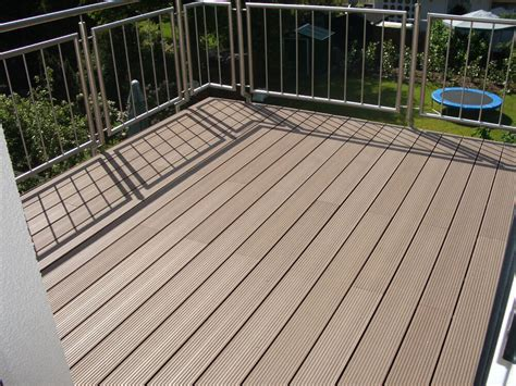 Wpc Dielen Balkon by Musterset Wpc Terrassendielen Dielen Diele Deck Balkon