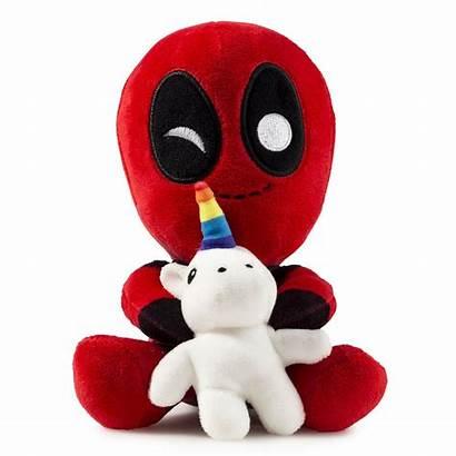 Unicorn Deadpool Plush Marvel Riding Kidrobot Toys