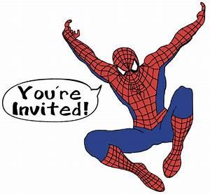 Spiderman party invitation wording Spiderman and Jesse ...