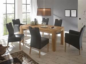 Esstisch Und Stühle : tischgruppe eiche tisch ausziehbar 2 sessel 4 st hle ~ A.2002-acura-tl-radio.info Haus und Dekorationen