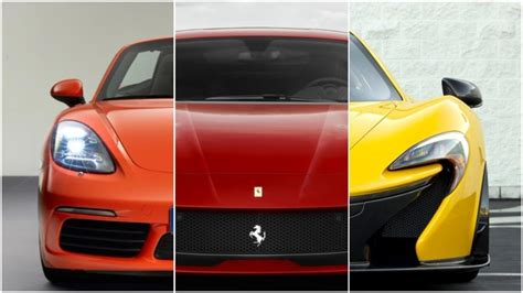 Learn The Difference Between A Sports Car, A Supercar & A