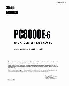 Komatsu Hydraulic Mining Shovel Pc8000e