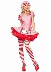 Sexy Strawberry Dessert Costume