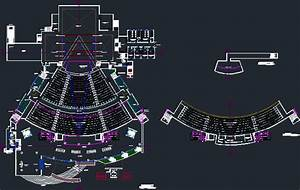 Theatre Dwg Full Project For Autocad  U2013 Designs Cad