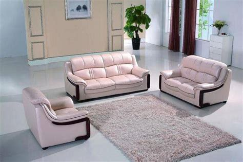 Pink Leather Sofa Set by Maxwest P190 Modern Pearl Pink Leather Sofa Loveseat And