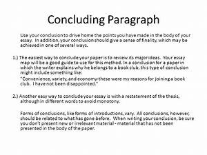 writing conclusion paragraphs powerpoint