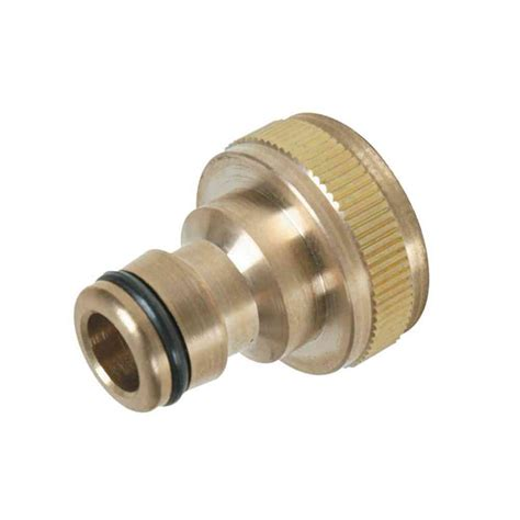garden hose connectors brass garden hose tap connector stevenson plumbing