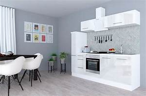 Küchenzeile 240 Cm Mit E Geräten : respekta k chenzeile mit e ger ten rp240 breite 240 cm online kaufen otto ~ Watch28wear.com Haus und Dekorationen
