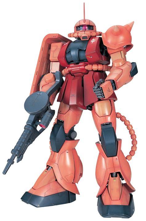"Bandai Hobby Ms06s Char's Zaku Ii ""mobile Suit Gundam"" Perfect Grade Action Figure, Scale 160"