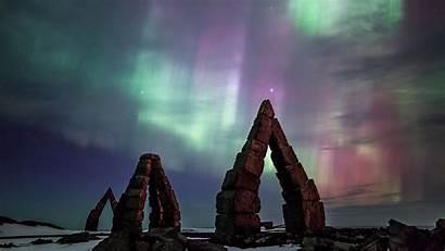 Bing Aurora Iceland Desktop Arctic Henge Daily