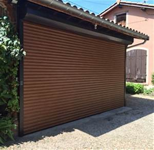 porte de garage enroulable monsieur store With porte de garage enroulable et fabrication de porte en bois