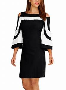 black and white dresses kamisco With robe chemisier chic