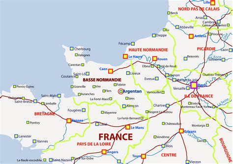 Carte Nord Ouest à Imprimer by Info Nord