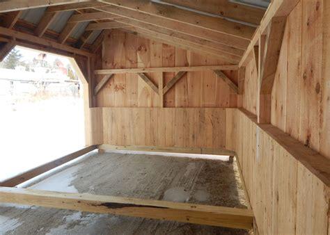 horse stall kits prefab run  sheds livestock shelter