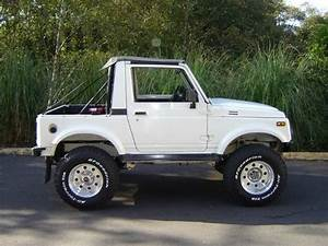 Suzuki Samurai Service Repair Manual 1986