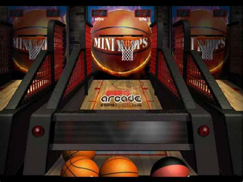 espn mini hoops   game gamehouse
