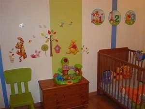 decoration chambre bebe pas cher With déco chambre bébé pas cher avec thermocollant fleurs