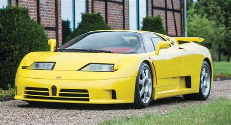 This 1995 Bugatti Eb110 Ss Is Heading To Auction