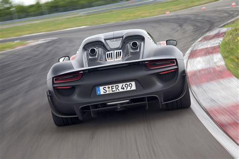 Porsche Announces Revised Specs For 918 Spyder