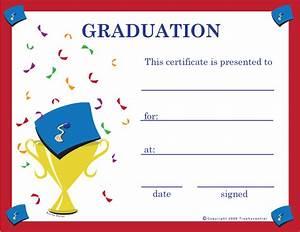 Free Graduation Certificates, Certificate Free Graduation