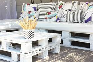 upcycling pallets heartbeats With canape lit deco