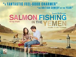 Salmon Fishing In The Yemen filmed at Angler's Mail
