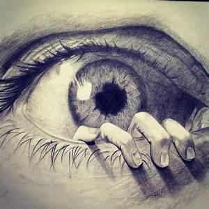 My latest drawing :) #art #eye #tattooart #drawing #pencil ...