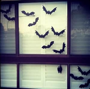 Giggleberry Creations!: Halloween Window Silhouette DIY