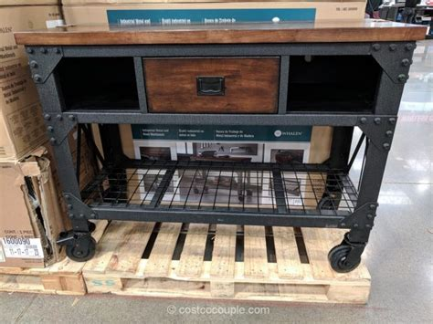 whalen industrial metal  wood workbench