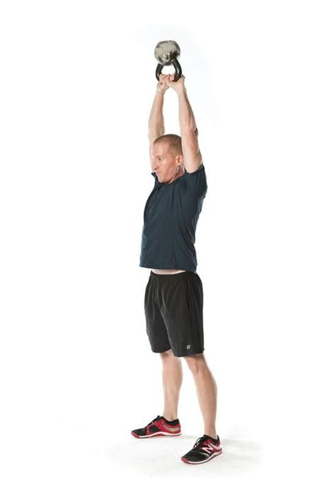 swing kettlebell lockout