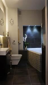 33 idees pour petite salle de bain astuces pratiques couleur With couleur pour petite salle de bain