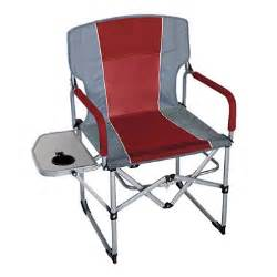 csmart 174 portable director s chair maroon and gray