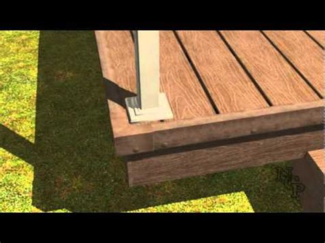 Installing Trex Decking by 7 Composite Decking Installation Railings