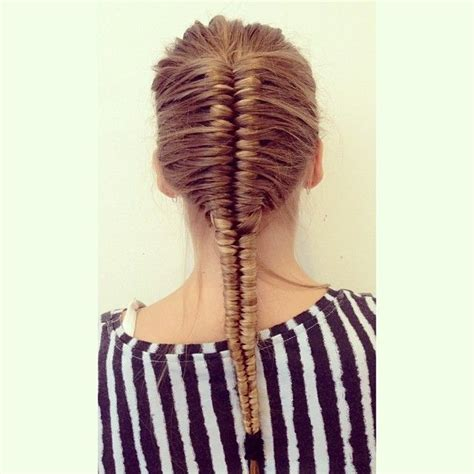 french infinity braid nails makeup hair hair