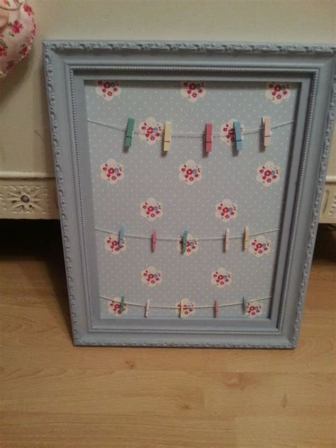 shabby chic notice board 39 awesome uses for your wallpaper scraps the shabby chic guru