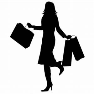 Woman With Shopping Silhouette Smu | Free Images at Clker ...