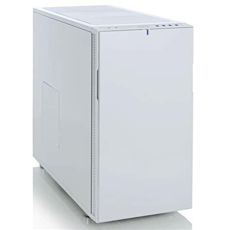bureau informatique verre trempé fractal design define r5 white fd ca def r5 wt achat
