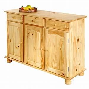 Meuble Bas Cuisine Pas Cher : buffet de cuisine en bois le bois chez vous ~ Teatrodelosmanantiales.com Idées de Décoration