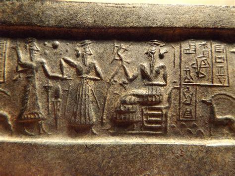 Sumerian cylinder seal impression replica - VA 243 ...