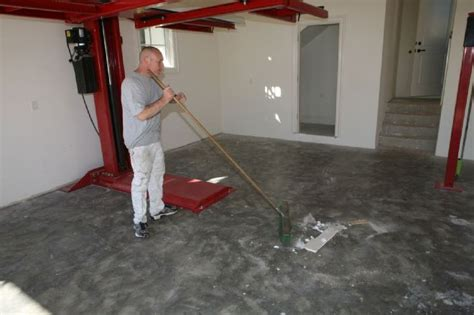 garage floor paint do it yourself ucoat it do it yourself epoxy floor coating kit install hot rod magazine
