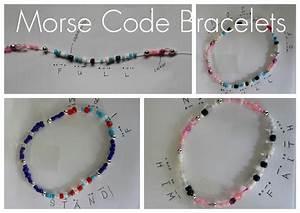Creative Crafts ~ Morse Code Bracelets Practical Pages