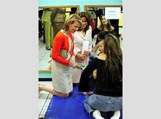 Mathilde de Belgique visite un centre de réhabilitation à