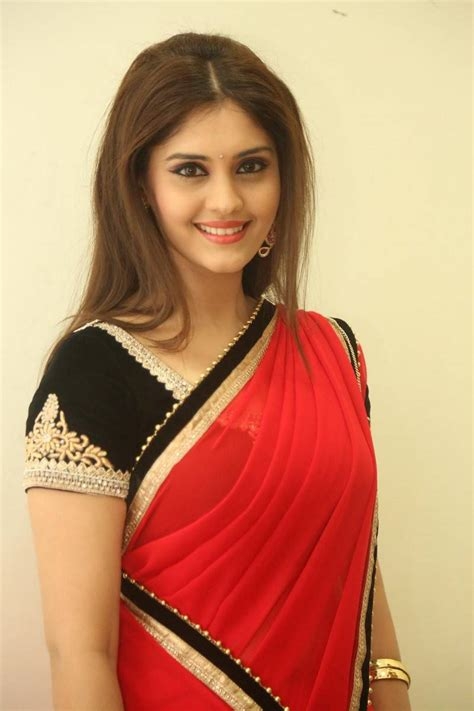surabhi saree at express raja audio launch stills hd tamil