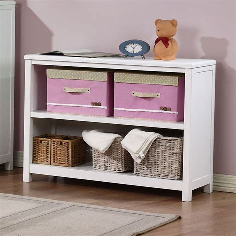 Childrens White Bookcase by Childrens Hickory 2 Shelf Bookcase Shelves Bedroom