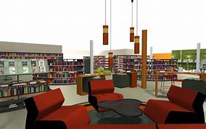 Decoration Pictures Of Library Design Architecture In