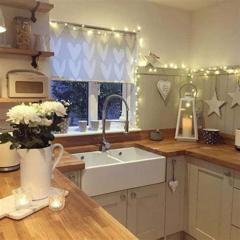 Add Glow To Your Kitchen With Fairy Lights