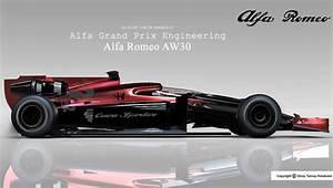 Alfa Romeo F1 : alfa romeo aw30 is a design study for new formula 1 racing car tuvie ~ Medecine-chirurgie-esthetiques.com Avis de Voitures