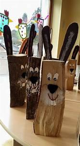 Basteln Mit Holz : 1001 ideen f r osterdeko aus holz im haus oder garten ~ Lizthompson.info Haus und Dekorationen